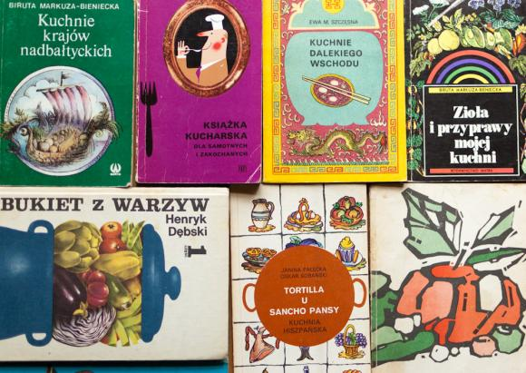 Książki kucharskie