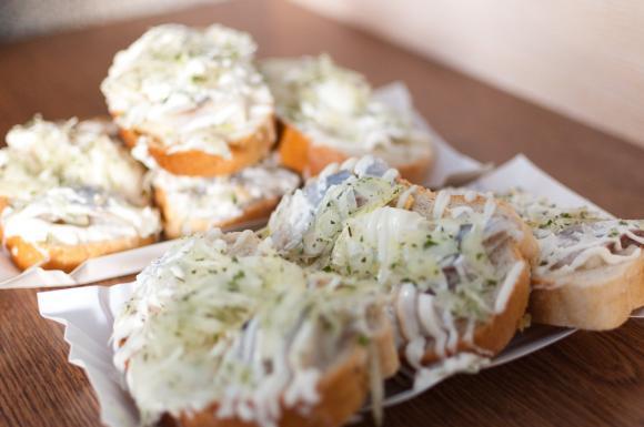 Cieszyn – kanapki ze śledziem