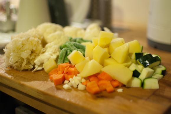 warzywa na zupę rumuńską