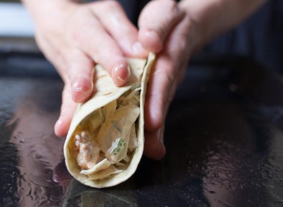 formowanie tortilli