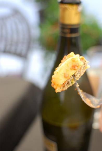 Tortelli luchesi - duże tortellini nadziewane chlebem i mięsem, typowy przysmak z Lukki