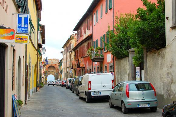 Główna uliczka w Montecarlo