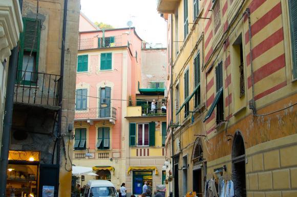 Uliczka w Monterosso