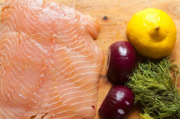 składniki na tatara z łososia