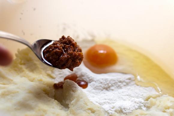 składniki na gnocchi di patate
