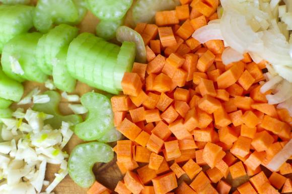 marchewka, seler naciowy, cebula