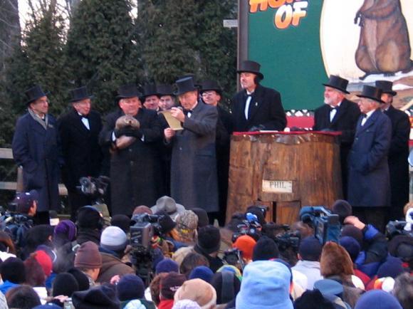Dzień Świszcza w Punxsutawney w 2005 roku.