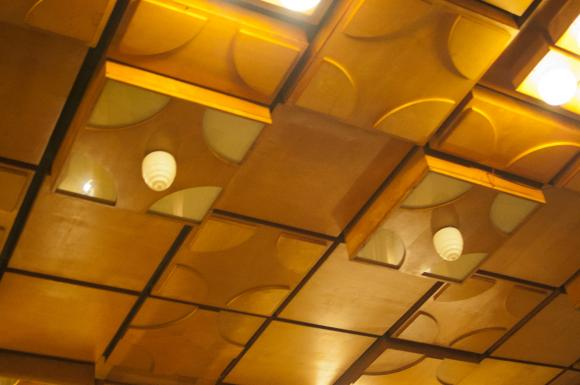 Sufit w Hotelu Piast