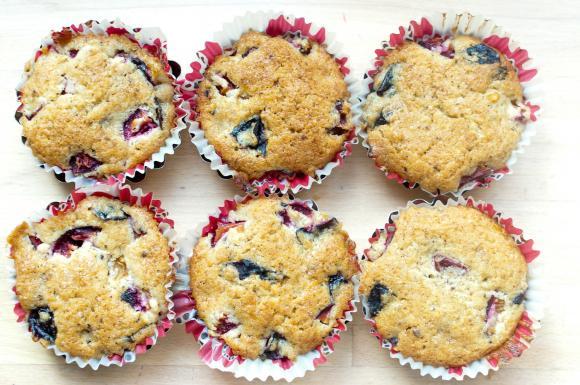 muffinki na winnym kamieniu