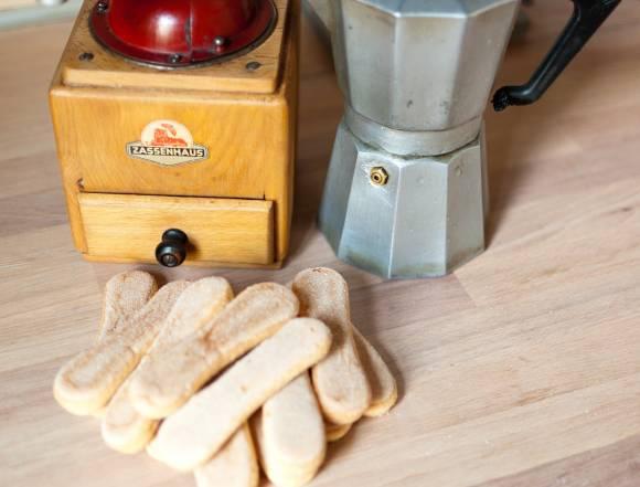 biszkopty i kawa