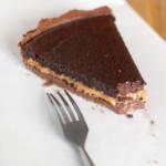 Tarta czekoladowo-kajmakowa. Deser elegancki